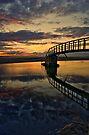 Bridge into Water by Chris Cherry
