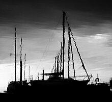 Preparing to Sail by Peyton Duncan