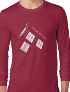 Doctor Who – The TARDIS Long Sleeve T-Shirt