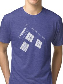 Doctor Who – The TARDIS Tri-blend T-Shirt