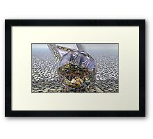 Spry Web Bounce Framed Print