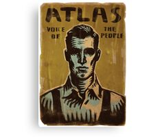 BioShock – Atlas, Voice of the People Canvas Print
