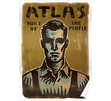 BioShock – Atlas, Voice of the People Poster