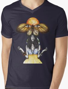 Mother Nature IX Mens V-Neck T-Shirt