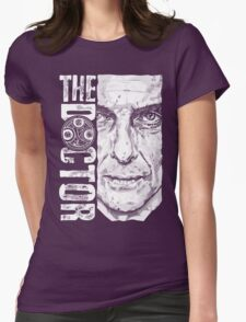 New Beginnings Number 12 - Doctor Who - Peter Capaldi Womens Fitted T-Shirt