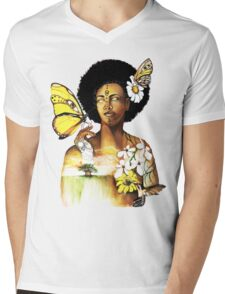 Mother Nature VIII Mens V-Neck T-Shirt