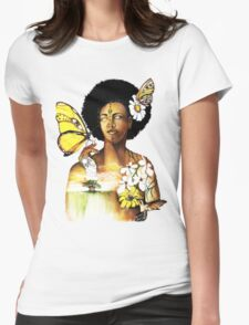 Mother Nature VIII Womens Fitted T-Shirt