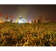 Pyramid Stage, Glastonbury Festival 2007 Photographic Print