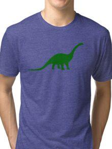 Brontosaurus / Apatosaurus Dinosaur Tri-blend T-Shirt