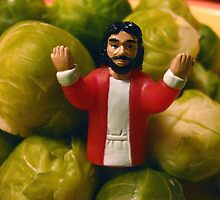 Jesus Sprouts by brombles
