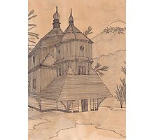 Mountain Monastery Photographic Print