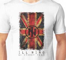 Distressed Union Jack (White) - Ill Nino UK Street Team Unisex T-Shirt