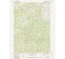 USGS Topo Map Oregon Dutchman Creek 279737 1968 24000 Photographic Print