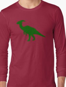 Parasaurolophus Dinosaur Long Sleeve T-Shirt