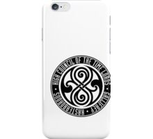 Doctor Who - High Council of the Time Lords - Gallifrey iPhone Case/Skin