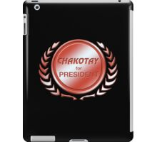 Chakotay for President iPad Case/Skin