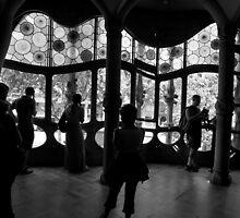 Gaudi Shadows by Louise Fahy