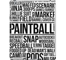 World of Paintball! iPad Case/Skin