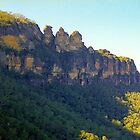 Three Sisters, Blue Mountains by Alberto  DeJesus