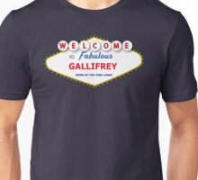 DOCTOR WHO WELCOME TO GALLIFREY Unisex T-Shirt