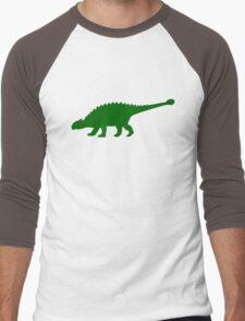 Ankylosaurus Dinosaur Men's Baseball ¾ T-Shirt