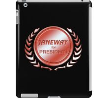 Janeway for President iPad Case/Skin