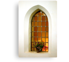 Come in and pray Canvas Print