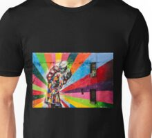 Times Square Kiss in Chelsea Unisex T-Shirt