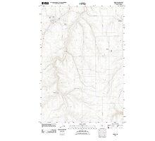 USGS Topo Map Oregon Moro 20110903 TM Photographic Print