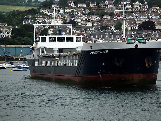 Shetland Trader by lynn carter
