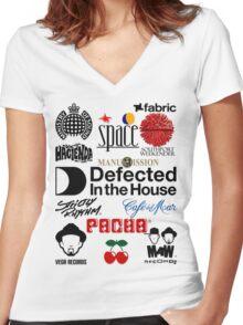 For Emma Women's Fitted V-Neck T-Shirt