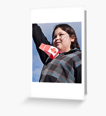 Proud to be Canadian! Greeting Card