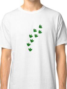 Dinosaur Footprints Classic T-Shirt