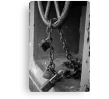 Red Tape Canvas Print