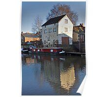 River Avon, Tewkesbury, Gloucestershire Poster