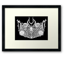 Realm Of Death Framed Print