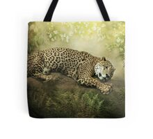 The Jaguar and the Peacock........ Tote Bag