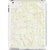 USGS Topo Map Oregon Telephone Butte 281761 1990 24000 iPad Case/Skin