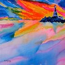 Lighthouse Sunset by Kevin McGeeney