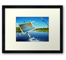 What You Using...................?? Framed Print