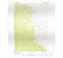 USGS Topo Map Oregon Rock Creek 281297 1972 24000 Poster