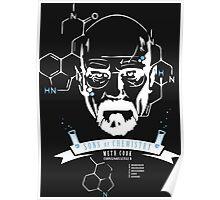 Heisenberg Sons of Chemistry Meth Cook Walter White T-shirt Poster