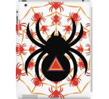 Too Spoopy Spider iPad Case/Skin
