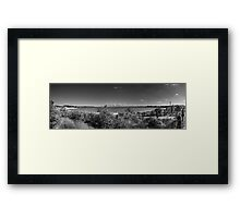 Yara Bay Panorama Framed Print