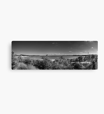 Yara Bay Panorama Canvas Print