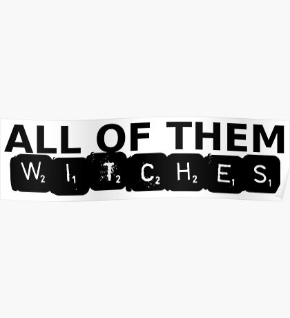 All of Them Witches V.2 Poster
