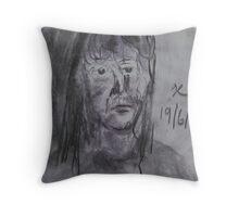 Lady of Sorrow Throw Pillow