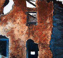 Adobe Ruins by Debbie  Adams