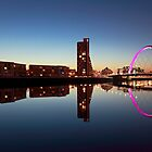 Clyde arc reflection by Photo Scotland