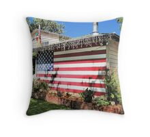 Proud of my Country!!, Proud of my Flag!! Throw Pillow
